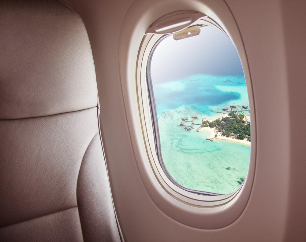 Départ aux Maldives