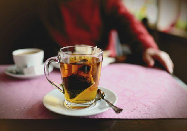 thé pour les enfants
